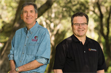 Buzz Thompson and Jeff Koseff, Pery L. McCarty Co-Directors of the Stanford Woods Institute